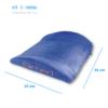 Kép 2/3 - kék színű QMED deréktámasztó párna