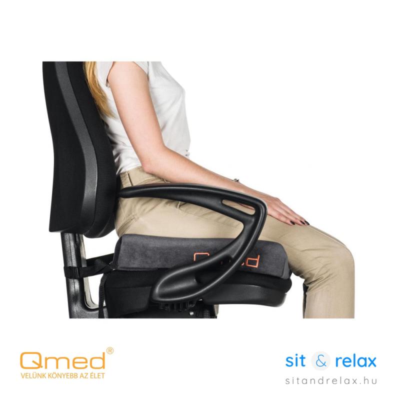 QMED ülőpárna anatómiai kialakítással