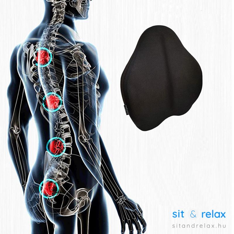gerincbarát kialakítású, megfelelően támaszja a hátat