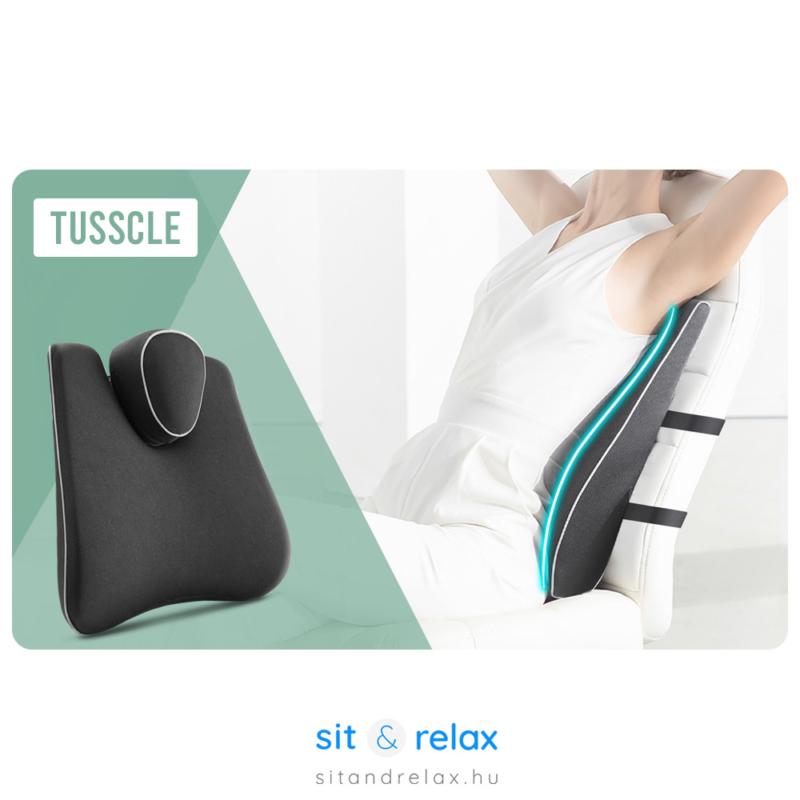 A Tusscle kényelmi deréktámasz