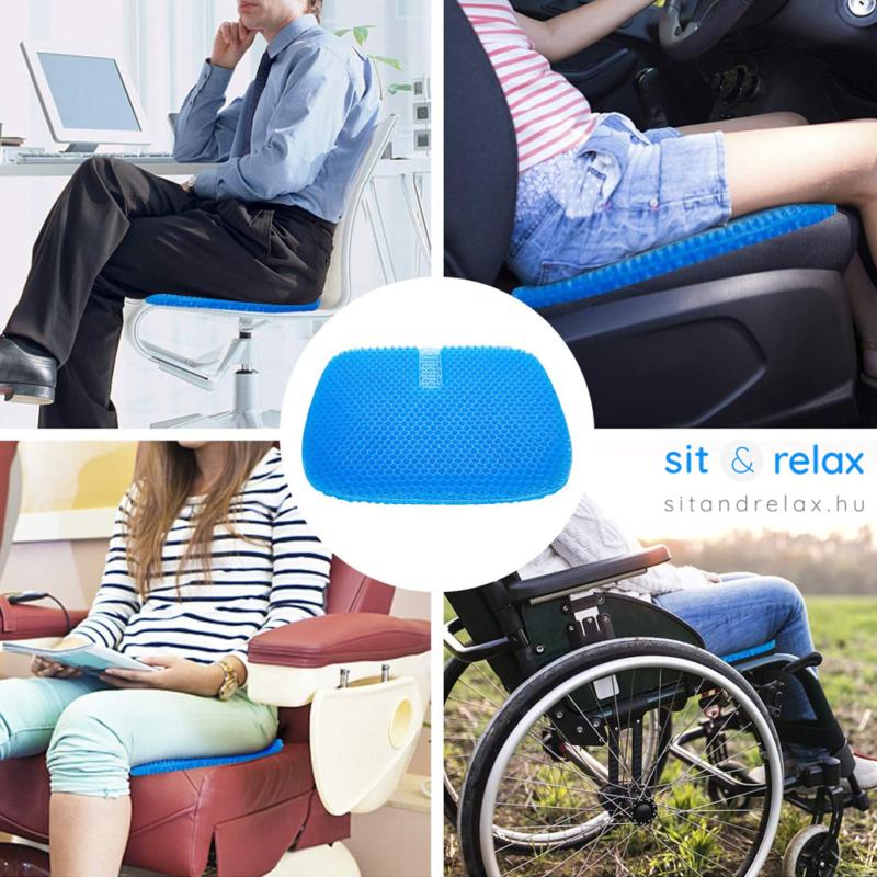 az ülőpárna bárhol kényelmet ad